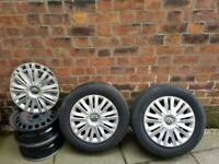Steel wheels spare 195/65 R15 91V 15 inch for Volkswagen cars