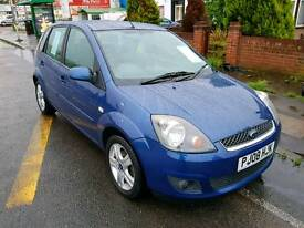 2008 FORD FIESTA CLIMATE 1.4 - 1 YR MOT - BLACK LEATHER SEATS - AIRCON - FSH - 2 OWNERS - 5 DOORS