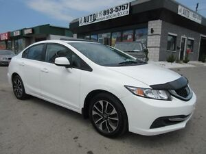 2013 Honda Berline Civic EX (Only 48,125 KM, Sunroof, Automatic,