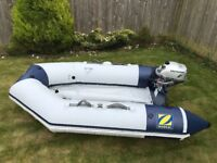 Zodiac Cadet RIB and unused from new Honda outboard