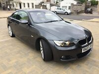 ***2007 BMW 320D M SPORT GREY 6 SPEED F/S/H. TOP CON ***