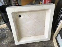 Shower Tray 900 x 900 mm White