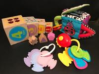 Assortment of Baby Child Toys