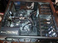 CORE i7 BASE / CORSAIR 12GB RAM / GTX670 2GB / CORSAIR 750W PSU