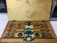 VINTAGE GOLIATH METRIC TAP AND DIE SET