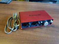 Focusrite Scarlett 2i2 USB Audio Interface 1st Gen