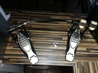 Double Bass Drum Pedal with Key