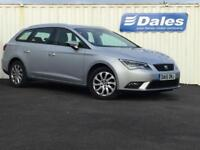 Seat Leon 1.6 TDI SE 5dr [Technology Pack] (ice silver) 2015