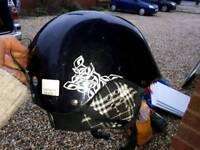 Ski helmet, black, medium man