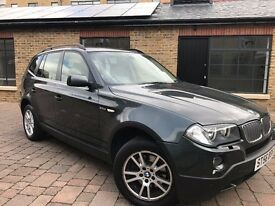 BMW X3 3.0d SE 5 DOORS AUTOMATIC DIESEL **FULL SERVICE HISTORY**FULL MOT**HPI CLEAR**