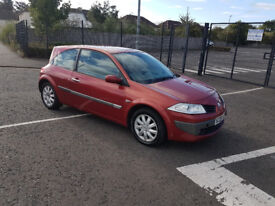 2006 Renault Megane Dynamique 1.6 Petrol 3 Door - MOT August 2018 - 72473 Miles - 2 Previous Owners