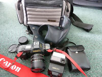 CANON T70 35mm SLR FILM CAMERA