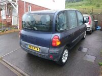 2001 (51) Fiat Multipla Diesel, 12 months MoT, 6 seat MPV, cambelt done, all 3 rear seats removable