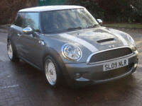 MINI HATCH COOPER 1.6 COOPER S 3d 172 BHP 2 PREVIOUS KEEPER ++ LEATHER TRIM FULL SERVICE RECORD