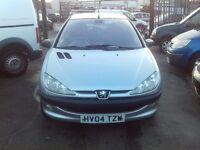 PEUGEOT 206 1.4 HDI £30 A YEAR TAX FULL MAIN DEALER SERVICE HISTORY