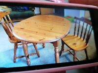 Table and 3 chairs free