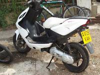 Yamaha yq 50 aerox 12 months M.O.T