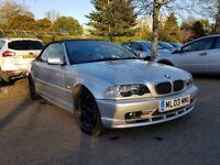 BMW 3 SERIES E46 Convertible