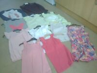 job lot of girls clothes age 12-13 yrs
