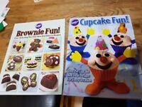 Brownie fun and cupcake fun