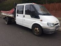 2004 transit crew cab lwb tipper October 2017 mot one previous owner from new
