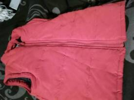 Red Bodywarmer, 2-3 years