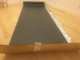 New 6mm gold underlay for wood/laminate flooring