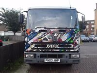 Iveco ford truck 2 car transporter