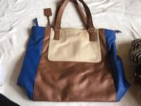 Dorothy perkins ladies shoulder bag blue good condition £5