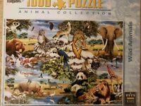 Animal 1000 piece jigsaw puzzle