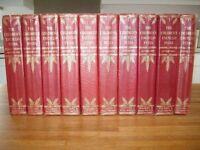 A set of Arthur Mees Encyclopaedias