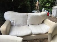 Sofa and arm chairs FREE