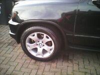X5 alloy wheels