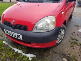 Great little runner, perfect first car. 3 dr Red Yaris pick up Sheffield S5