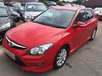 2010/60 HYUNDAI I30 1.6 EDITION,5 DOOR,STUNNING LOOKS,GREAT SPEC,LOOKS AND DRIVES REALLY WELL