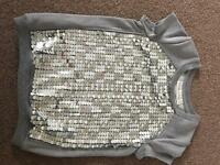 Tammy girl sequin jumper Age 6-7 SOLD