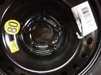 Audi A4 spair wheel