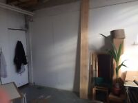 Desk space to sublet in sunny Peckham artist studio