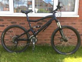 GT Sensor 4 full suspension 2012 mountain bike