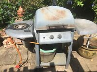 Gas BBQ free to collector