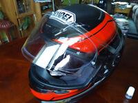 Shoei NXR ISOMORPH TC1, crash helmet, M, size medium 57-58 cm, with pin lock, like new