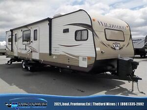 2015 Forest River WILDWOOD 29FKBS COMME NEUVE !!