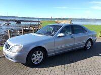 Mercedes 430L S Class. Limousine , Wedding car , Excellent car