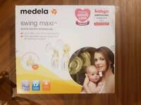 Medela Swing Maxi double electric breast pump and extras