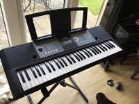 YAMAHA Digital Electric Keyboard -PSR E233, including stand, perfect condition.