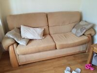 2 and 3 seater matching sofas - excellent condition
