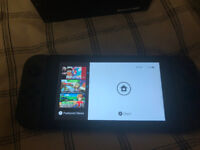 Nintendo switch - Grey - Comes with all accessories + screen protector
