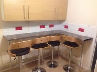 Refurbished Flat : Large Double and Medium Double : 5 Mins walk to Mile End : Zone 2