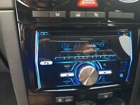 Pioneer FH-X700BT Bluetooth car stereo with Edge subwoofer