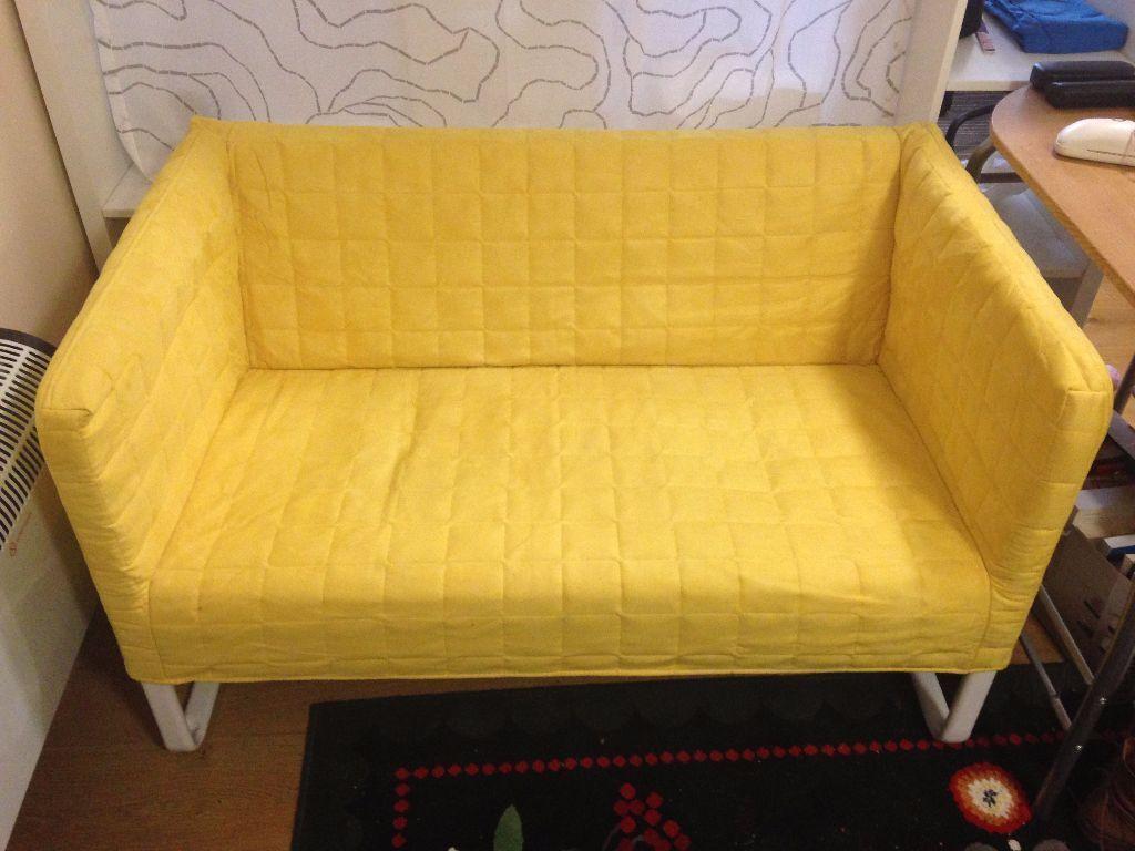 Ikea Yellow Sofa Lycksele L 214 V 197 S Sleeper Sofa Vallarum